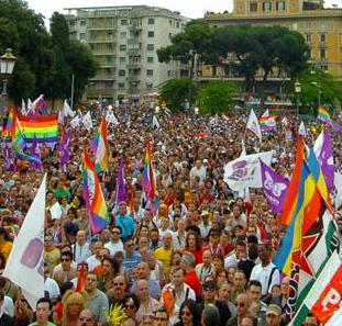 Défilé le 15 juin : Roma Pride 2013