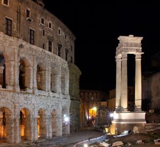 Nuits romaines : au Teatro di Marcello