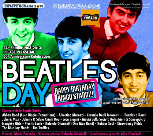 Nostalgie : The Beatles day 2013