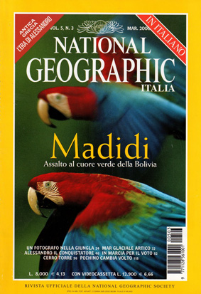 National Geographic marzo 2000 numero 3