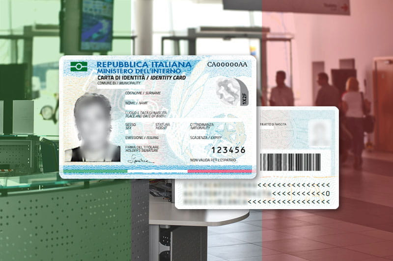 Carte identité italienne