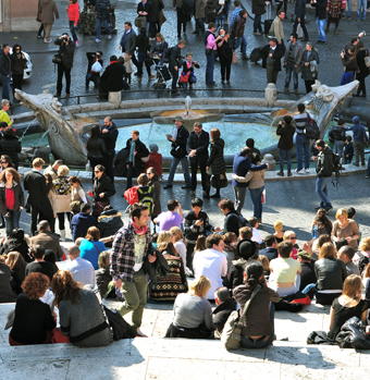 Chantiers : trève de Noël pour la Barcaccia