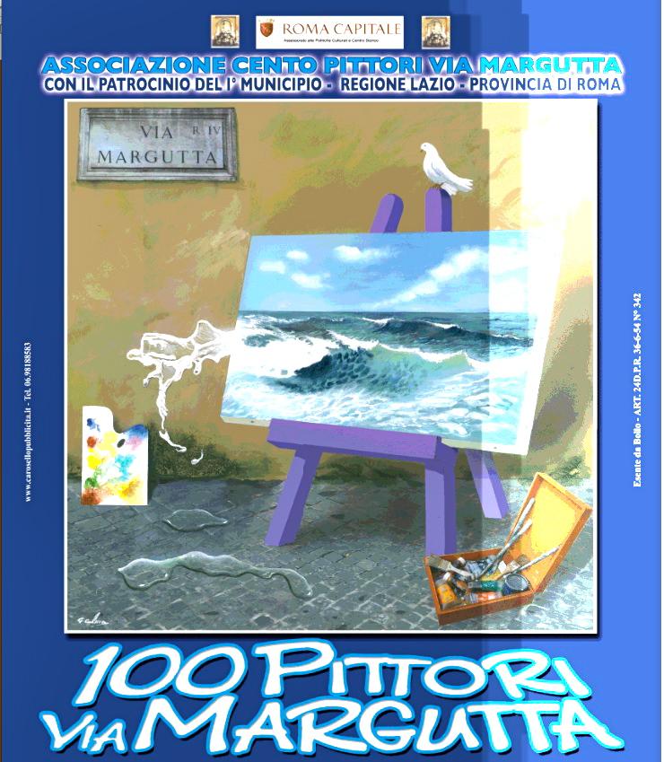 Un rendez-vous du Centre Historique : les 100 Peintres de Via Margutta