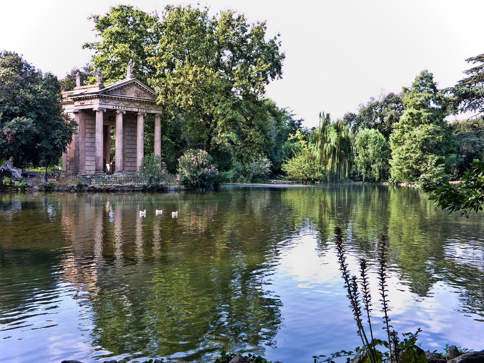 Le Lac de la Villa Borghese rendu aux Romains et à ses habitants