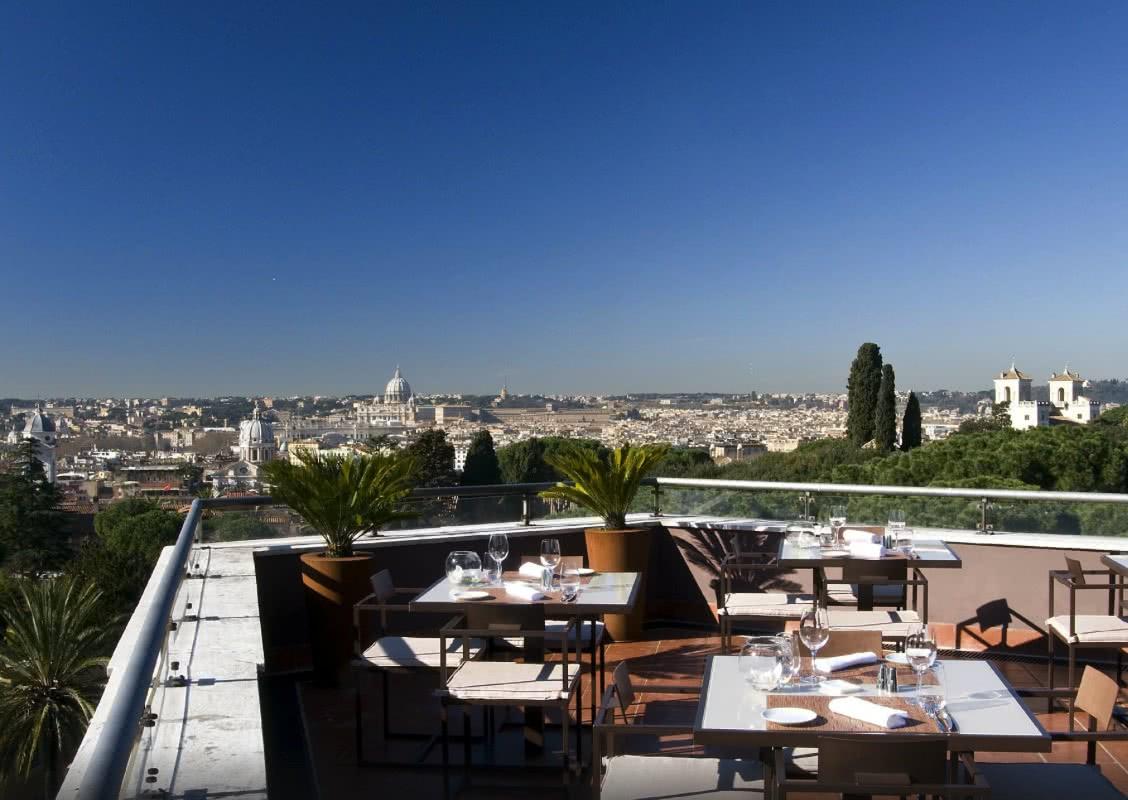 D'en haut : Les plus belles vues depuis les terrasses de Rome