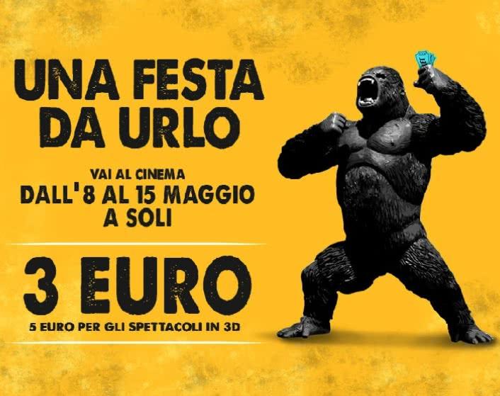 La Festa du Cinema du 8 au 15 mai ! Des billets à 3€ !