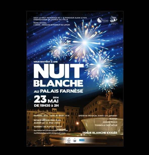 Evénement : La Nuit Blanche au Palais Farnèse