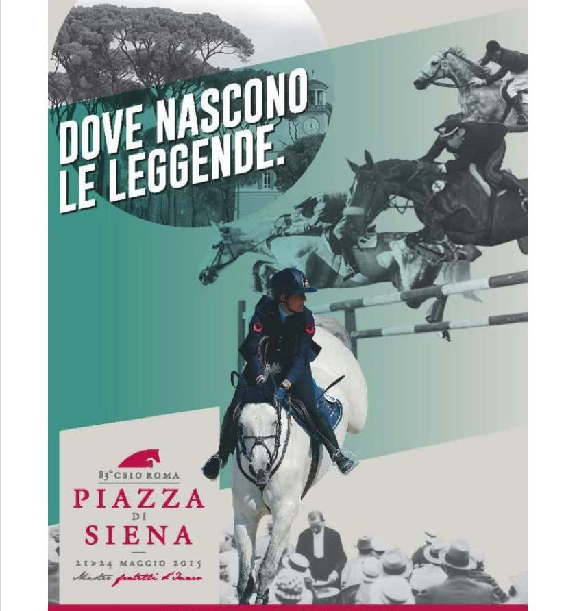 Piazza di Siena : Les chevaux à l'honneur
