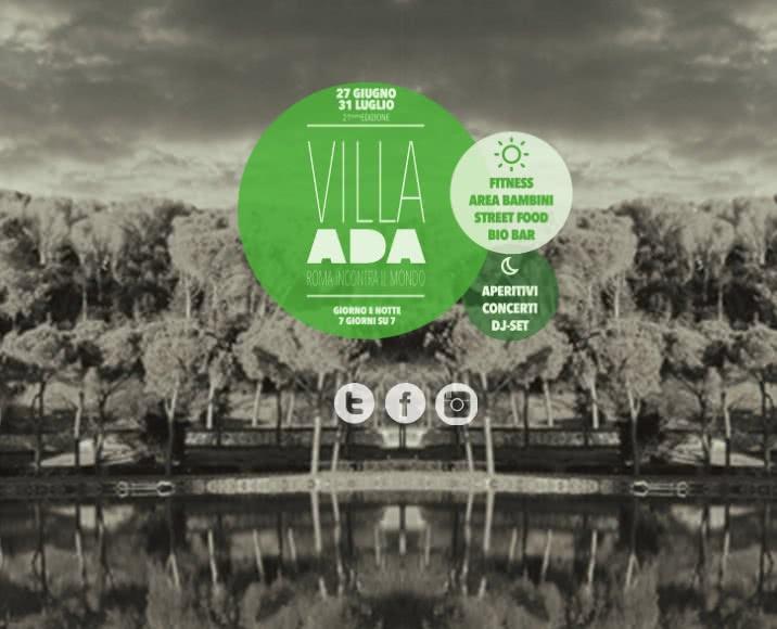 Le grand retour : Villa Ada Incontra Il Mondo revient !