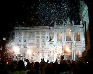 Neige à Rome : tous les ans en août