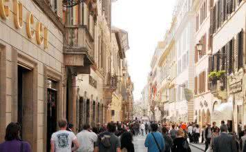 Quartier shopping rome
