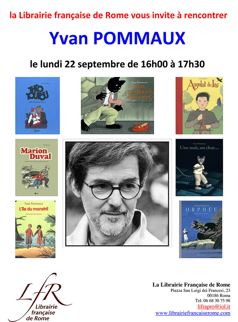 Affiche Yvan Pommaux
