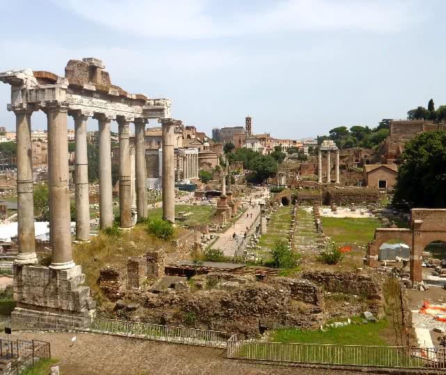Forum Romain : Ouverture du Vicus Iugarius