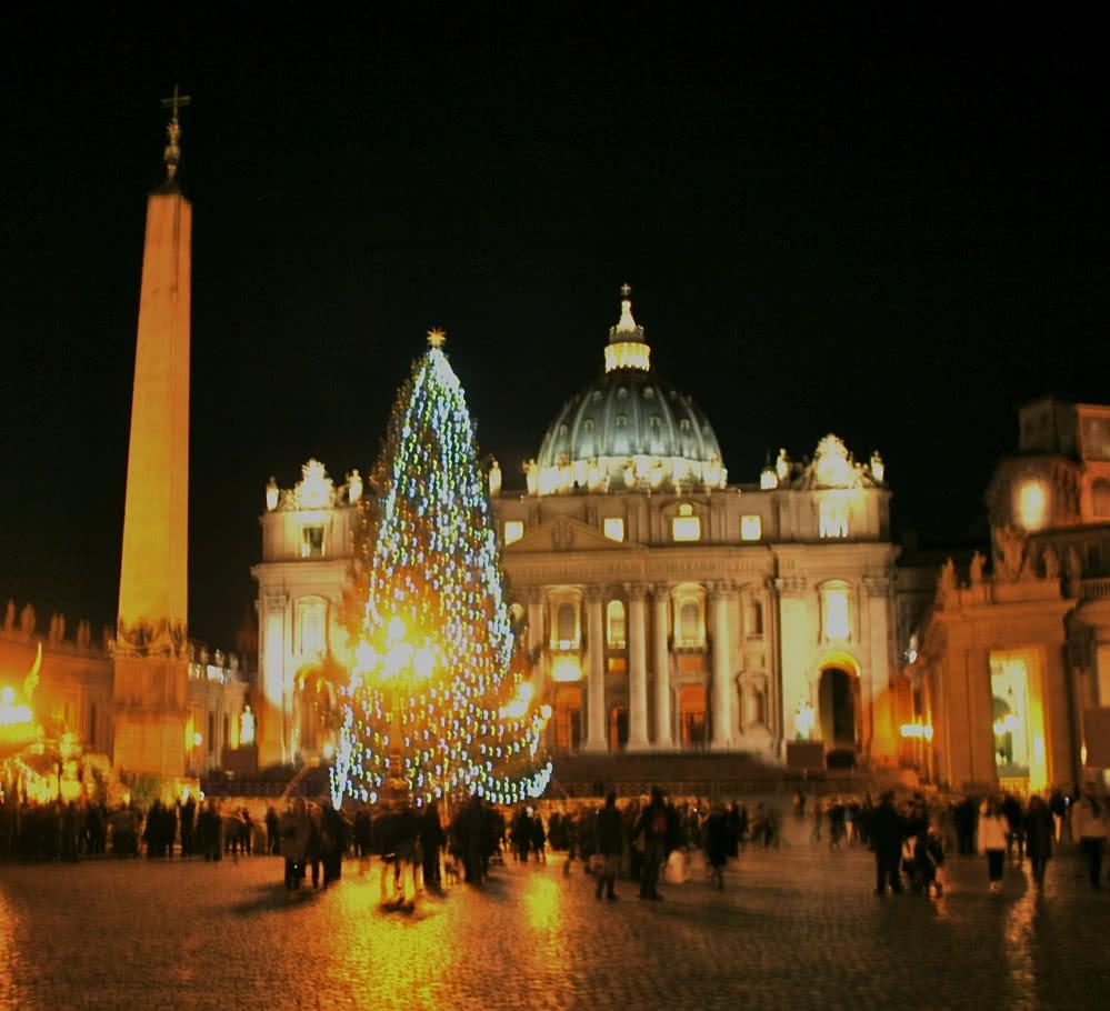 Noël à Rome : La ville décorée - Lumières, sapins et crèches