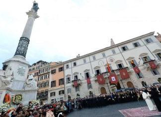 8 décembre férié à Rome