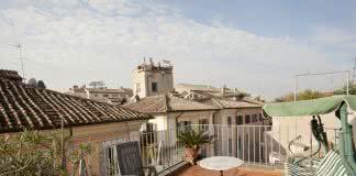 Location Rome Campo de Fiori - Terrasse