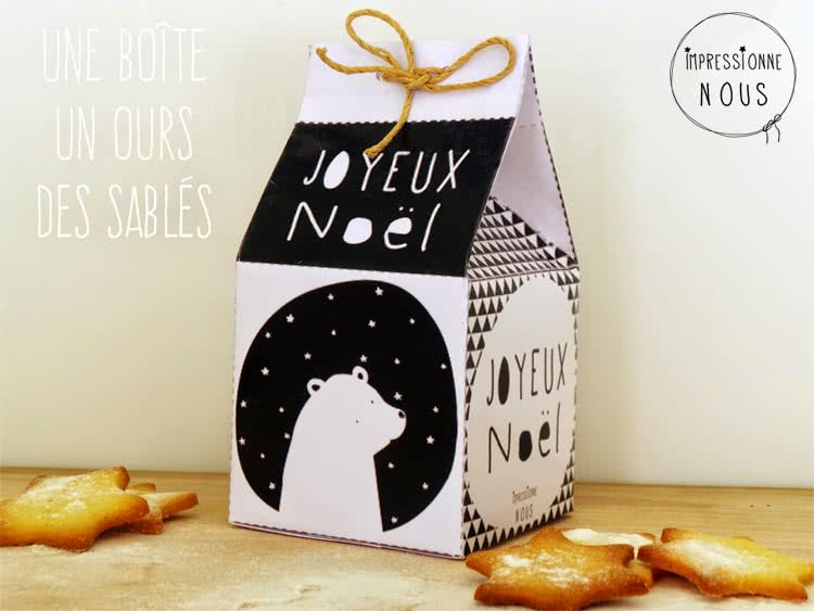 A confectionner : Douceurs de Noël et jolie boîte