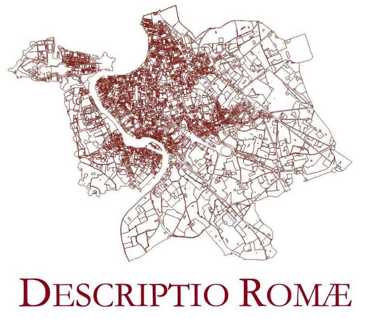 Descriptio Romae : La Rome des 18ème et 19ème siècles en mode interactif