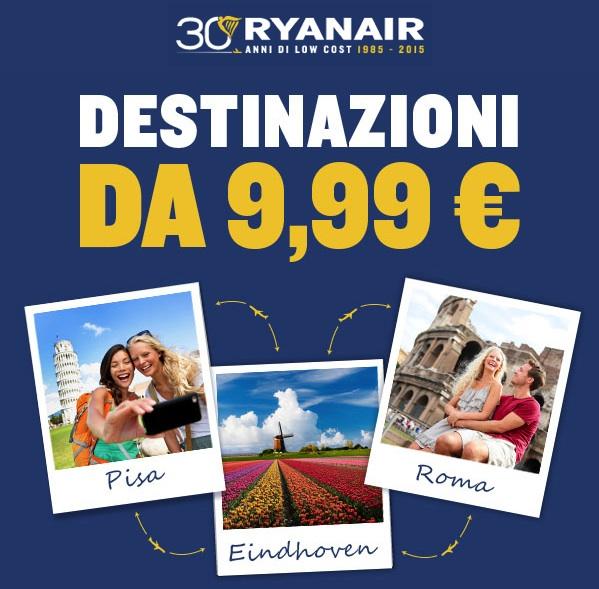 Ryanair : Le vrai prix des vols pour les vacances de février