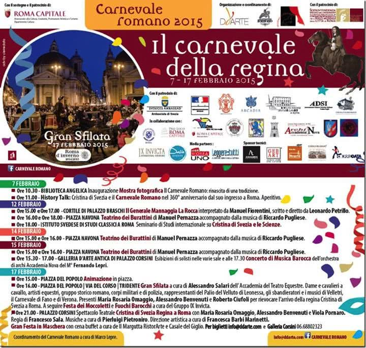 mardi gras carnaval rome 2015