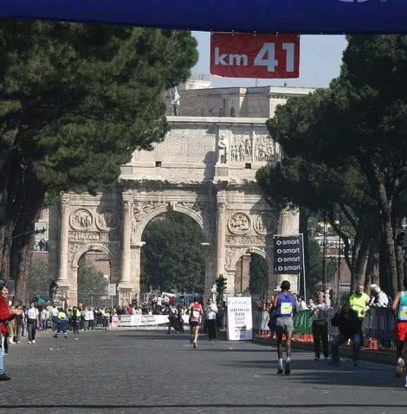 Dimanche 22 mars 2015 : Le Marathon de Rome