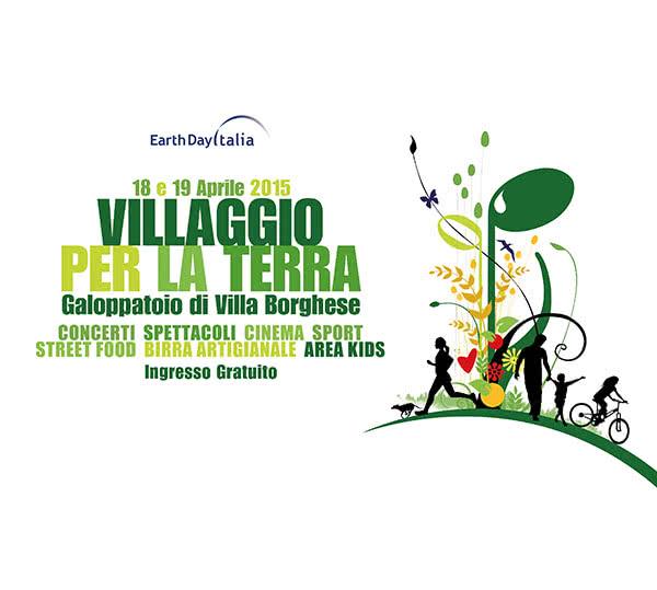 Journées de la Terre : Village Vert Villa Borghese