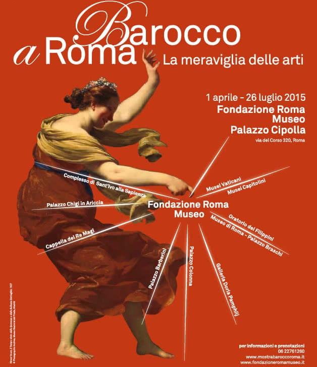 A l'honneur pendant 4 mois : La Rome Baroque