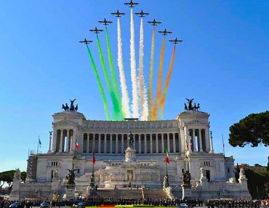 Le 2 juin : C'est la Fête Nationale Italienne !