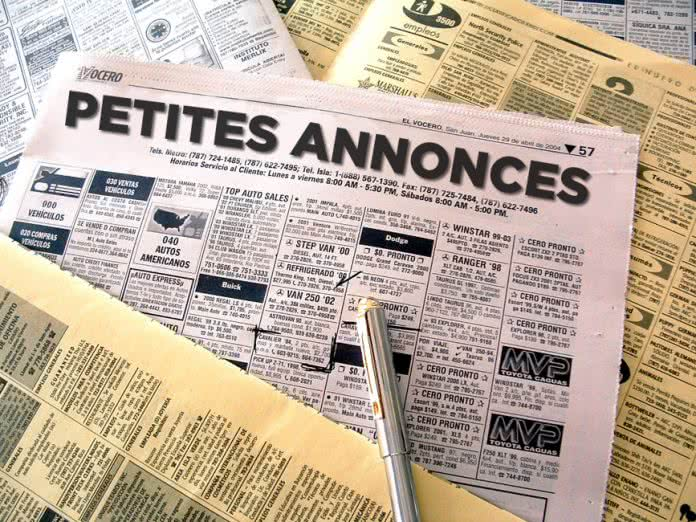 Les petites annonces des francophones