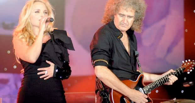 Brian May et Kerry Ellis