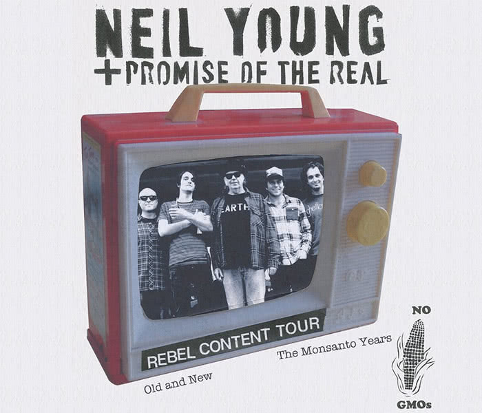 Neil Young + Promise of the real - Content Tour
