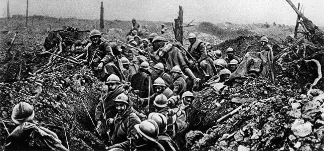 Verdun, tranchées