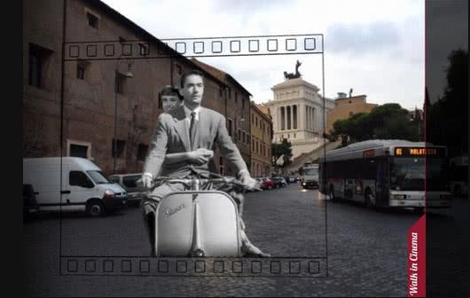 Réalitée augmentée App Walk in Cinema Roma