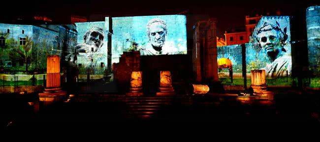 Forums Auguste et Cesar