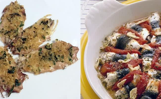 Sardines gratinate et al forno