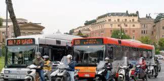 Bus a Rome