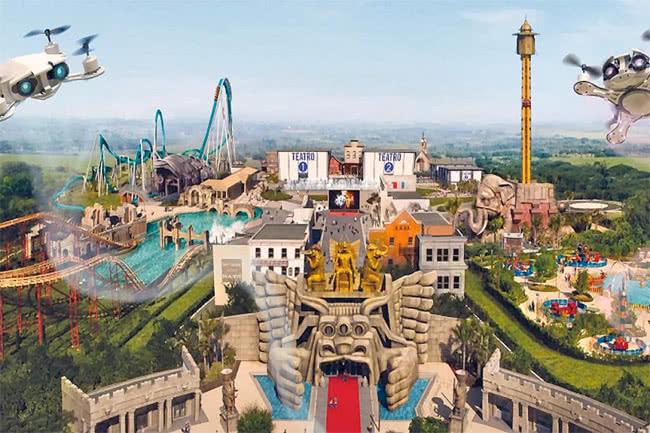 parc attraction italie rome
