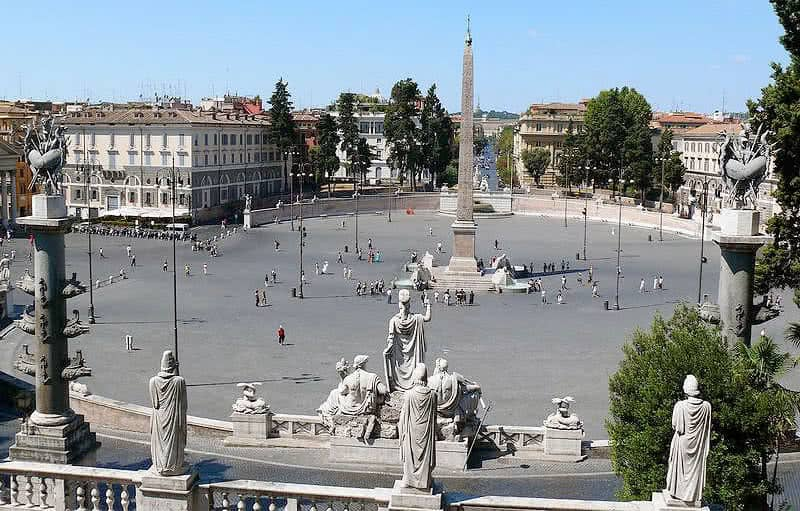 Piazza del Popolo - Place du Peuple