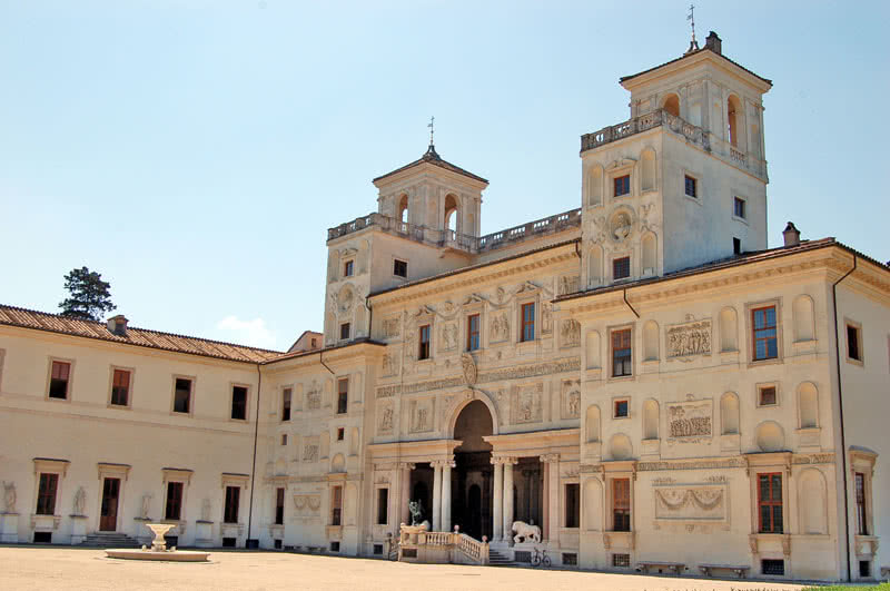 Villa Medicis arriere