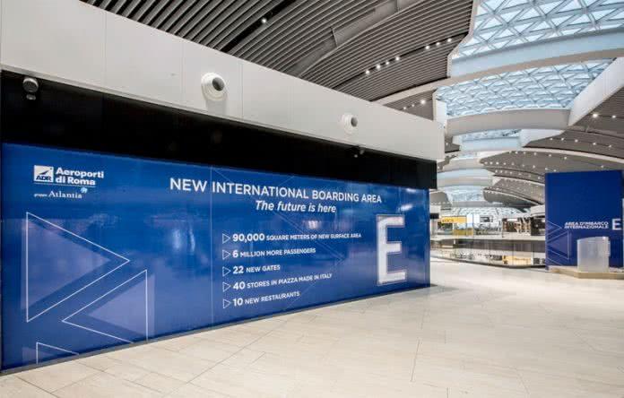 Terminal E Fiumicino 1