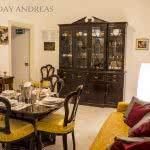 Location Rome - Trastevere - Salle a manger