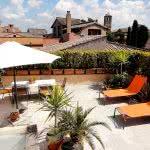 Location Rome - Trastevere - Terrasse