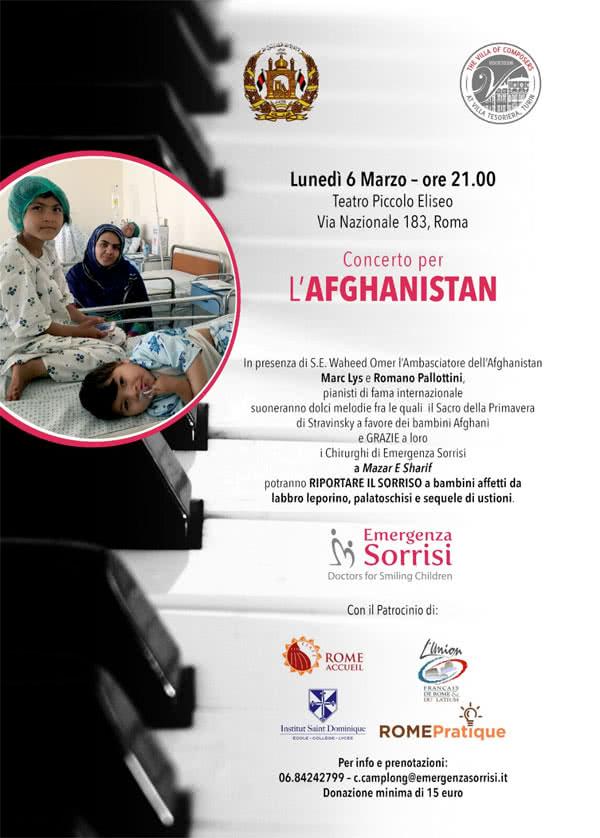 Affiche concert Afghanistan