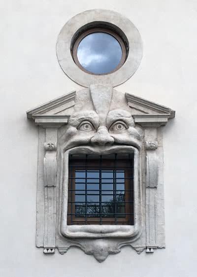 Fenetre Palais Zuccari