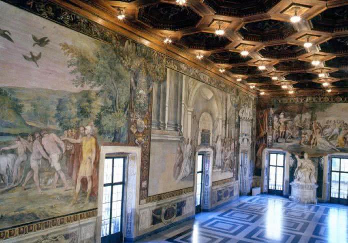 Musei Capitolini : Sala Degli Orazi e Curiazi