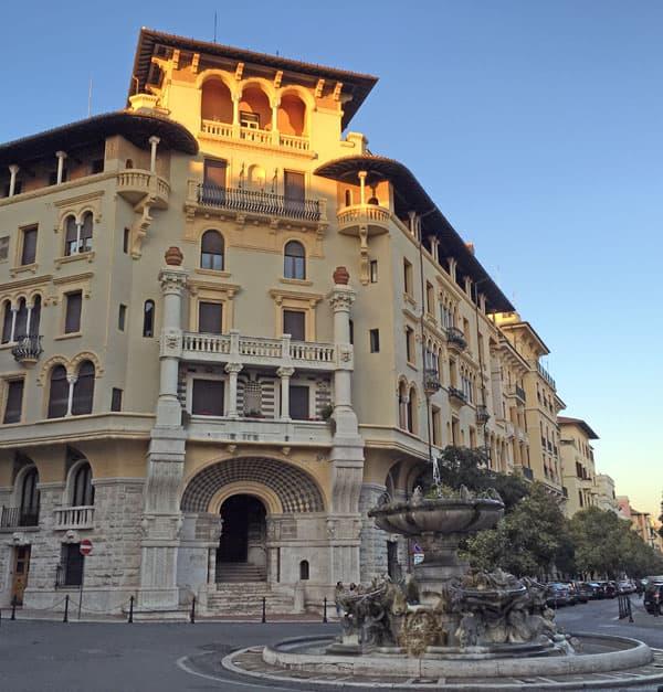 Palazzo del Ragno et Fontane delle Rane - Coppede