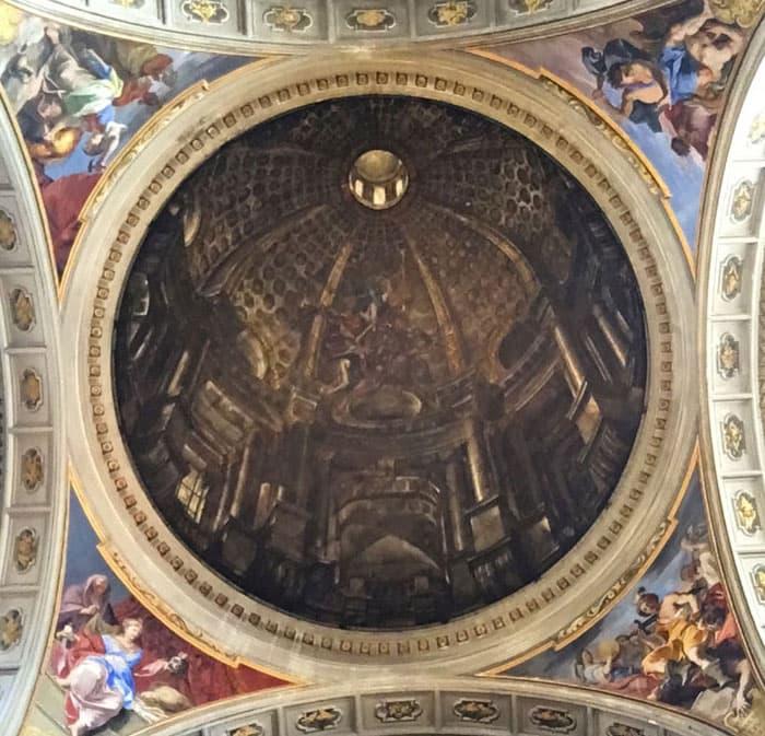 Coupole à plat Sant'Ignazio