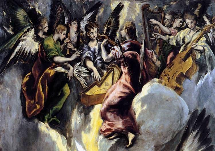 L'annonciation El Greco