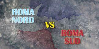 Roma Nord vs Roma Sud