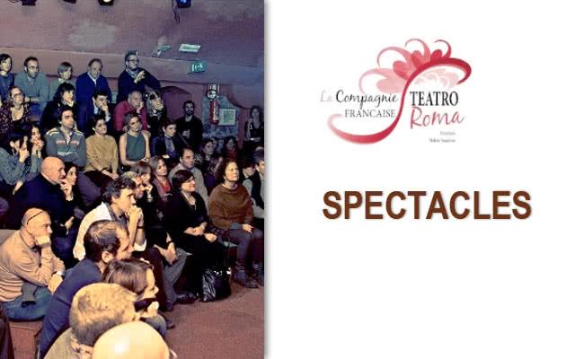 Spectacles : Compagnie française de Rome